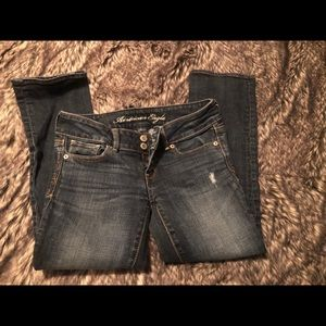 AE cropped jean